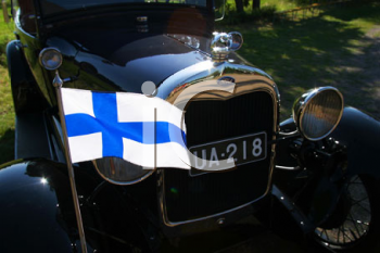 Royalty Free Photo of an Antique Car
