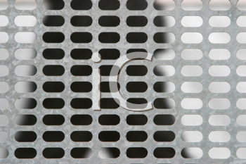 Royalty Free Photo of a Metal Grill