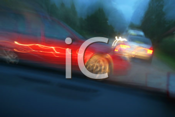 Royalty Free Photo of Cars