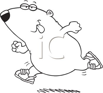 Royalty Free Clipart Image of a Guinea Pig