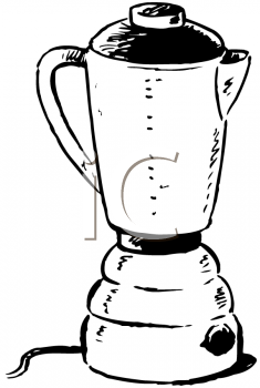 Royalty Free Clipart Image of a Blender