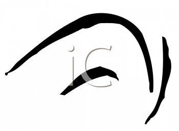 Royalty Free Clipart Image of a Mouth