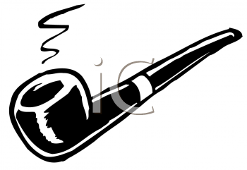 Royalty Free Clipart Image of a Pipe