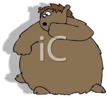 Royalty Free Clipart Image of a Groundhog
