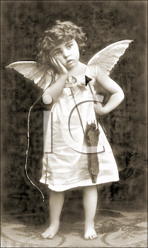 Royalty Free Photo of Cupid
