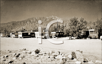 Royalty Free Photo of an RV Park