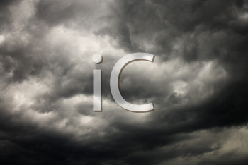 Royalty Free Photo of Ominous Abstract Storm Clouds
