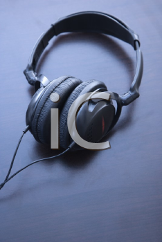Royalty Free Photo of a Still Life of Audio Headphones