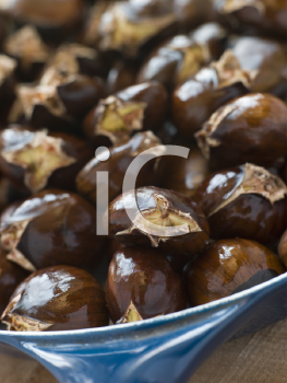 Royalty Free Photo of Roasted Chestnuts