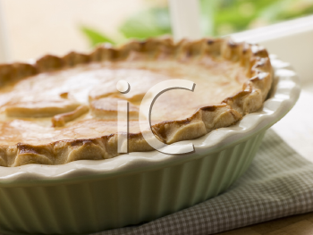 Royalty Free Photo of Baked Short Crust Pastry Pie