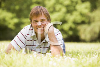 Royalty Free Photo of a Man Outside