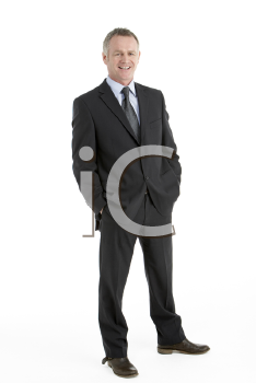 Royalty Free Photo of a Guy in a Business Suit