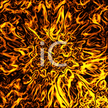 Abstract fire background