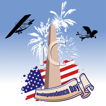 Independence day illustrated