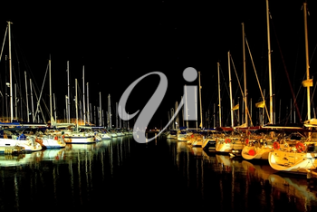 Royalty Free Photo of a Herzliya Marina