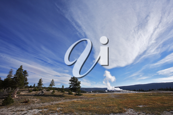 Royalty Free Photo of Yellowstone National Park