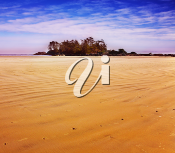 Royalty Free Photo of a Beach on Vancouver Island