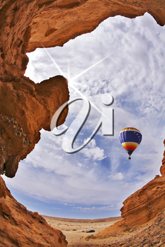 Royalty Free Photo of a Hot Air Balloon