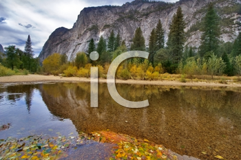 It is River in Yosemite national park valley