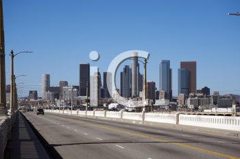 Royalty Free Photo of Downtown Los Angeles