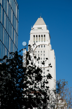 Royalty Free Photo of Los Angeles City Hall