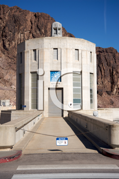 Royalty Free Photo of the Hoover Dam Building