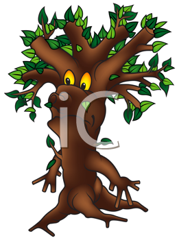 Royalty Free Clipart Image of a Tree