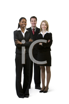 Royalty Free Photo of a Multi-Racial, Multi-Gender Group of Businesspeople