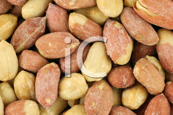 Royalty Free Photo of Roasted Peanuts