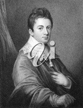James Wandesford Butler, 1st Marquess of Ormonde  (1777-1838) on engraving from 1830. Irish nobleman and politician. Engraved by Parker after a painting by Comeford and published by Fisher, Son & Co L