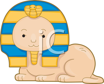 Royalty Free Clipart Image of a Sphinx