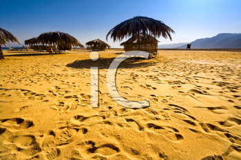 Royalty Free Photo of a Beach in Egypt