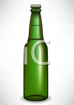 Royalty Free Clipart Image of a Beer