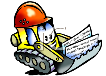 Royalty Free Clipart Image of an Excavator in a Helmet