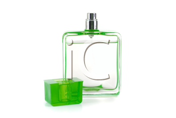 Royalty Free Photo of a Bottle of Cologne