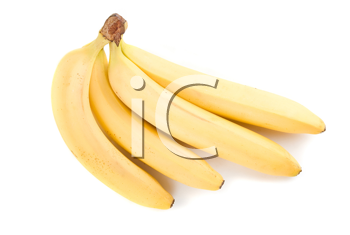 Royalty Free Photo of a Bunch of Bananas