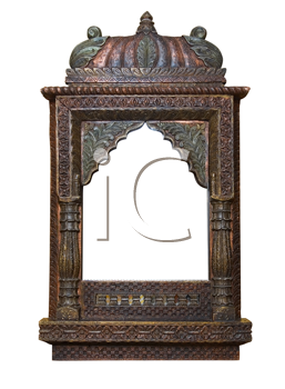 Royalty Free Photo of an Old Antique Frame