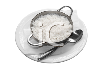Royalty Free Photo of White Rice in a Bowl