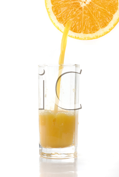 Royalty Free Photo of a Glass of Orange Juice