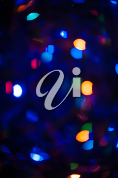 New year bokeh background for design