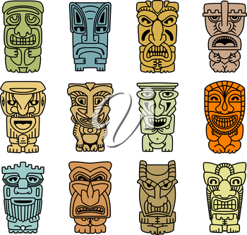 Royalty Free Clipart Image of Tribal Elements