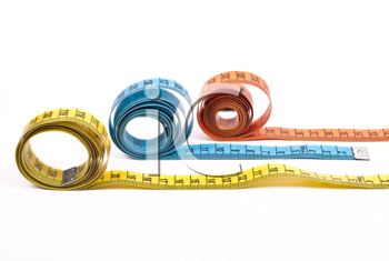 Royalty Free Photo of Measuring Tapes