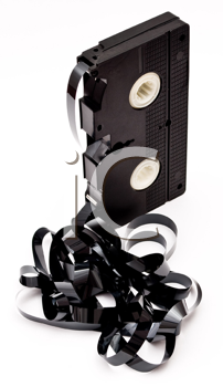 Royalty Free Photo of an Old VCR Tape