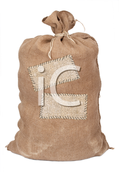 Big sack with labels