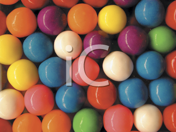 Royalty Free Photo of a Gumball Background