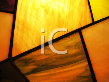 stained glass abstract and light background