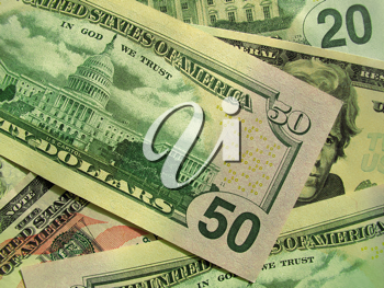 money background from new dollars usa