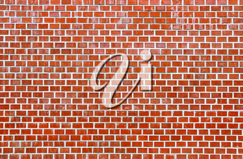 Architecture background with red brick wall