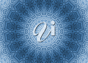 Blue abstract ornamental background