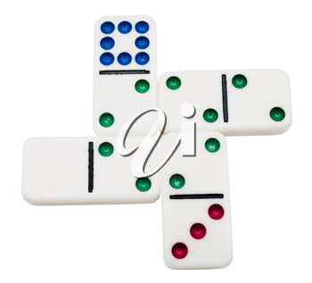 Royalty Free Photo of Dominos